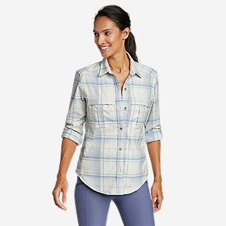 Thumbnail View 1 - Women's Expedition Pro Long-Sleeve Flannel Shirt