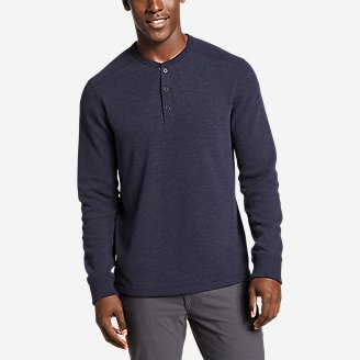 Thumbnail View 1 - Men's Eddie's Favorite Thermal Henley Shirt