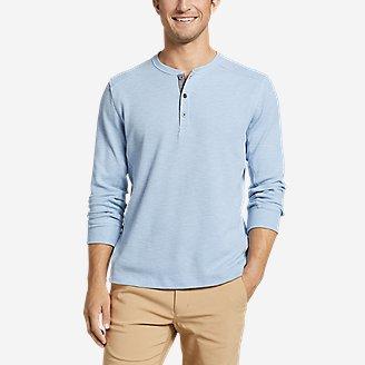 Eddie Bauer Eddie's Favorite Thermal Henley Shirt (various colors/sizes)
