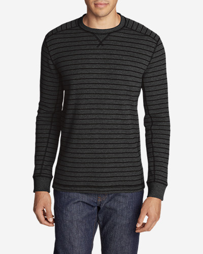 Men's Eddie's Favorite Thermal Crew - Stripe thumbnail