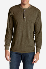 Men's Wapato Long-Sleeve Henley Shirt