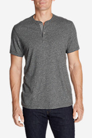 Men's Short-Sleeve Henley Shirt