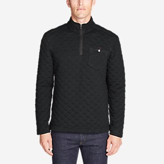 Thumbnail View 1 - Men's Fortify Quilted 1/4-Zip Pullover