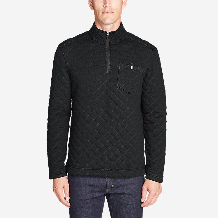 Men's Fortify Quilted 1/4-Zip Pullover large version