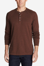 Men's Basin Long-Sleeve Henley Shirt
