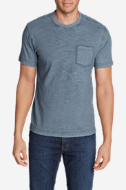 Men's Legend Wash Short-Sleeve Slub Pocket T-Shirt