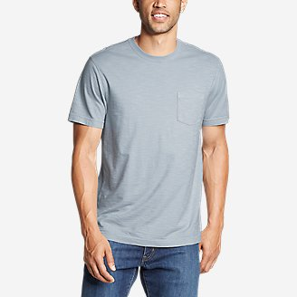 Thumbnail View 1 - Men's Legend Wash Short-Sleeve Slub Pocket T-Shirt