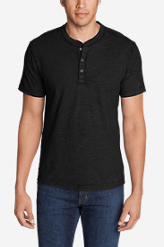 Men's Legend Wash Short-Sleeve Slub Henley Shirt