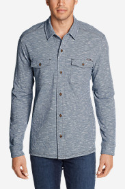 Men's Basin Button-Down Long-Sleeve Shirt