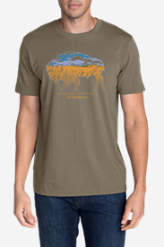 Men's Graphic T-Shirt - Buffaloscape