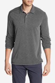 Men's Contour Long-Sleeve Polo Shirt