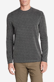 Men's Contour Long-Sleeve Crew - Stripe