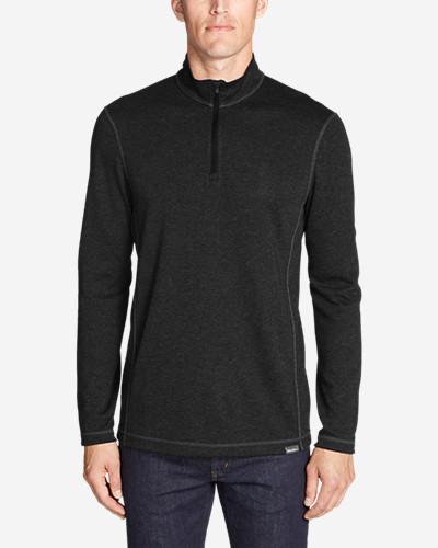 Men's Voyager Long Sleeve 1/4 Zip Pullover by Eddie Bauer