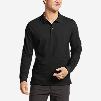 Thumbnail View 1 - Men's Classic Field Pro Long-Sleeve Polo Shirt