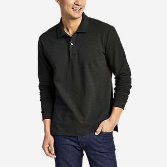Thumbnail View 1 - Men's Classic Field Pro Long-Sleeve Polo