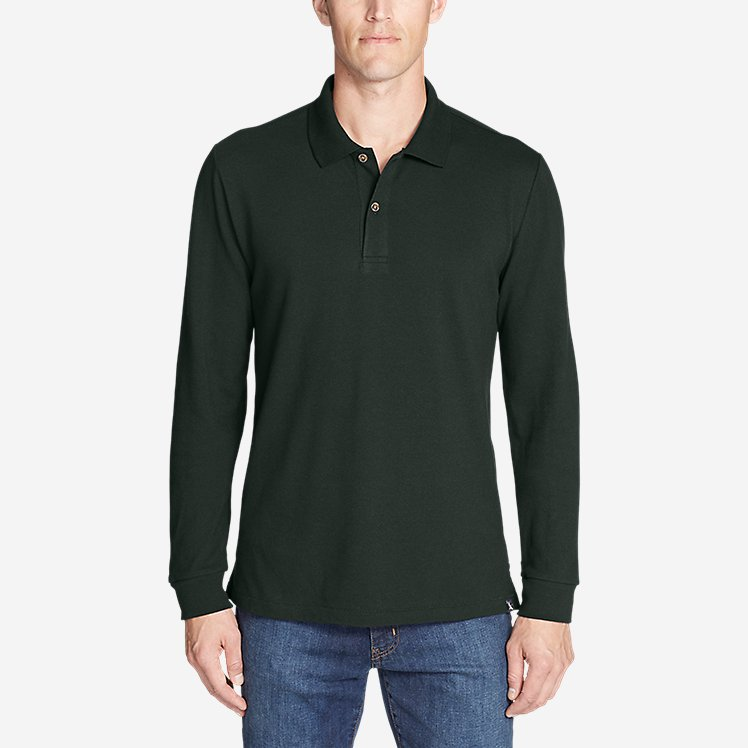 Men's Classic Field Pro Long-Sleeve Polo large version