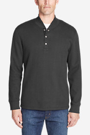Men's Sherpa-Lined Thermal Henley