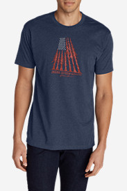 Men's Graphic T-Shirt - Tree Flag