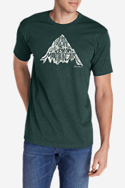 Men's Graphic T-Shirt - Breathe The Fresh Mountain Air