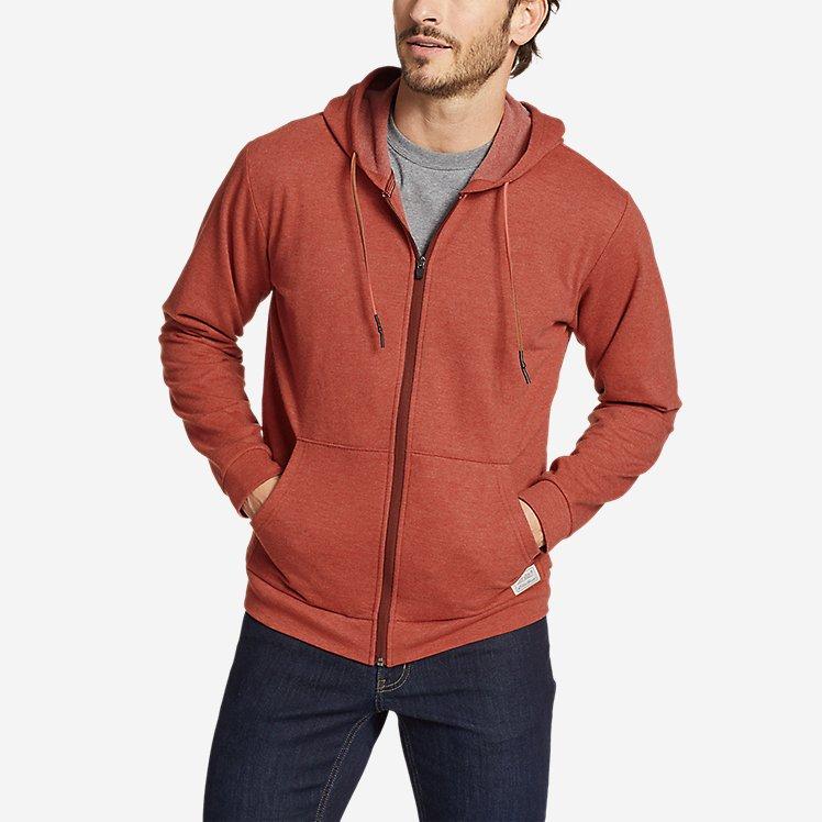 Men's Camp Fleece Full-Zip Hoodie large version