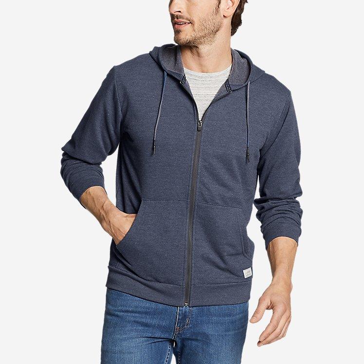Men's Camp Fleece Full-Zip Hoodie large version