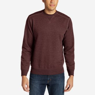 Thumbnail View 1 - Men's Camp Fleece Crew Sweatshirt