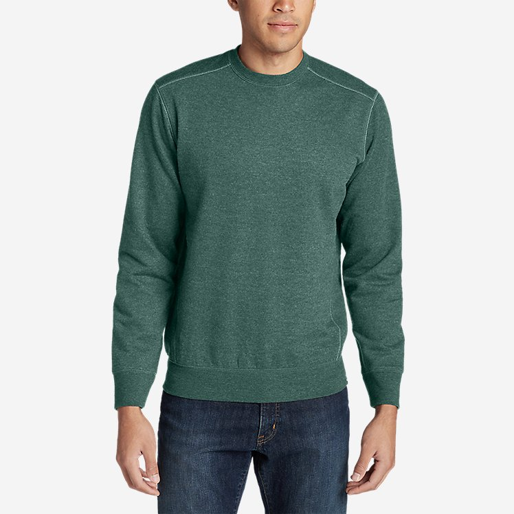 Men's Camp Fleece Crew Sweatshirt large version