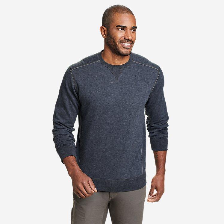 Men's Camp Fleece Crew Sweatshirt large version