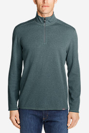 Men's Riverfront Reversible Double-Knit 1/4-Zip