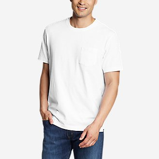 Legend Wash Pro Short Sleeve Pocket T Shirt by Eddie Bauer