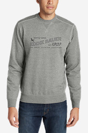 Men's Camp Fleece Crewneck Sweatshirt - Graphic