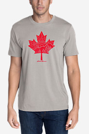 Men's Graphic T-Shirt - Canada Leaf