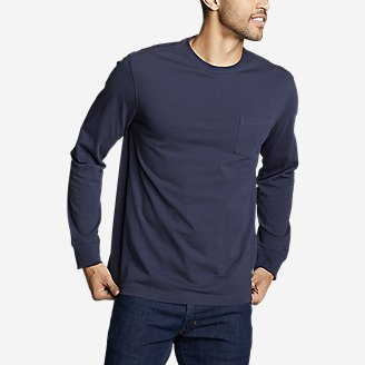Thumbnail View 1 - Men's Legend Wash Pro Long-Sleeve Pocket T-Shirt