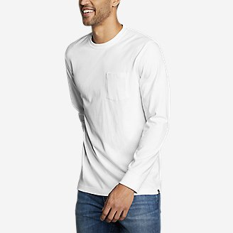 Thumbnail View 1 - Men's Legend Wash Pro Long-Sleeve Pocket T-Shirt