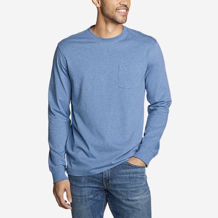 Men's Legend Wash Pro Long-Sleeve Pocket T-Shirt large version