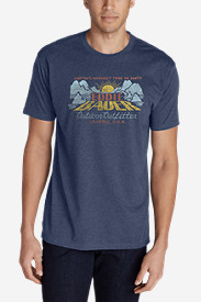 Men's Graphic T-Shirt - Eddie Bauer Down