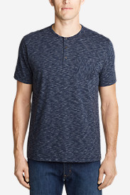 Men's Legend Wash Pro Short-Sleeve Henley - Space Dye
