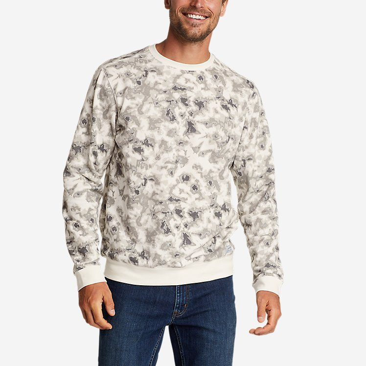 Men's Camp Fleece Crew Sweatshirt - Print large version
