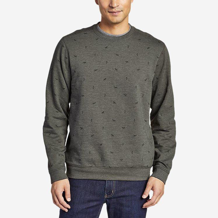 Men's Camp Fleece Crew Sweatshirt - Print large version