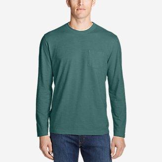 Thumbnail View 1 - Men's Legend Wash Slub Long-Sleeve T-Shirt