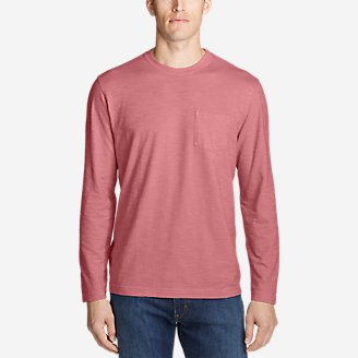 Thumbnail View 1 - Men's Legend Wash Slub Long-Sleeve T-Shirt