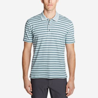 Thumbnail View 1 - Men's Voyager 2.0 Short-Sleeve Polo Shirt - Stripe