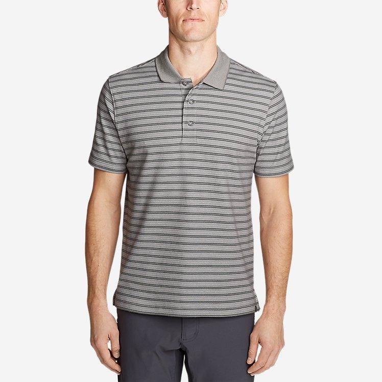Men's Voyager 2.0 Short-Sleeve Polo Shirt - Stripe large version