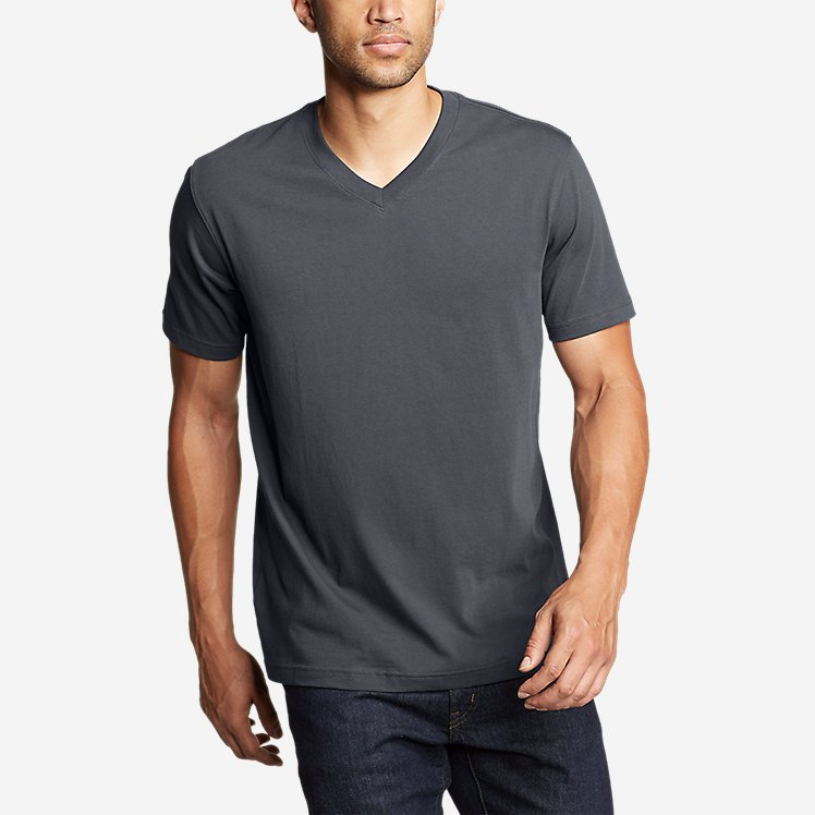 Eddie Bauer Legend Wash Pro Short-Sleeve V-Neck T-Shirt