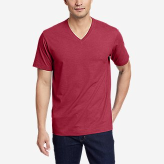 Thumbnail View 1 - Men's Legend Wash Pro Short-Sleeve V-Neck T-Shirt