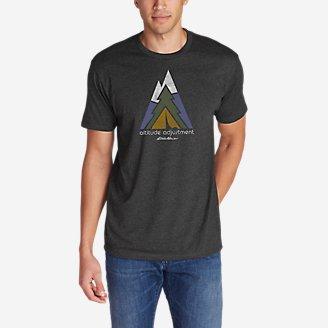Thumbnail View 1 - Men's Graphic T-Shirt - Altitude Adjustment