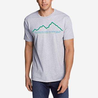 Thumbnail View 1 - Men's Graphic T-Shirt - Climb Higher