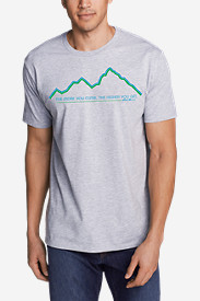 Men's Graphic T-Shirt - Climb Higher