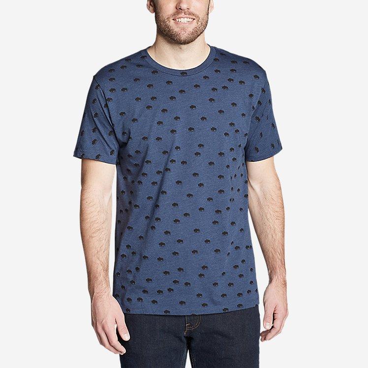 Men's Graphic T-Shirt - Buffalo Roam large version