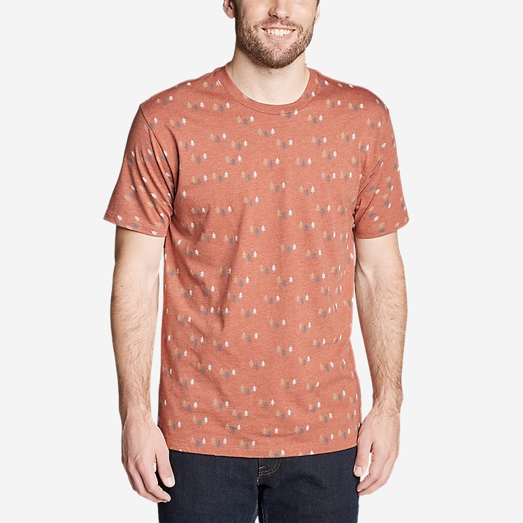 Men's Graphic T-Shirt - Through the Trees large version